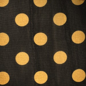 12mm Polka Dot Printed Chiffon