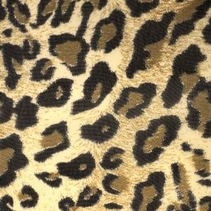 Small Wild Leopard Pattern Chiffon