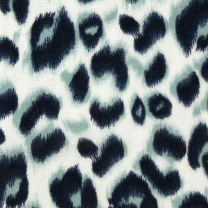 Wild Leopard Pattern Chiffon