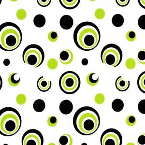 Contemporary Circle Print Spandex