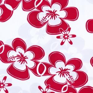 Cute Hibiscus Flower Print Spandex