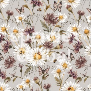 Muted Daisies