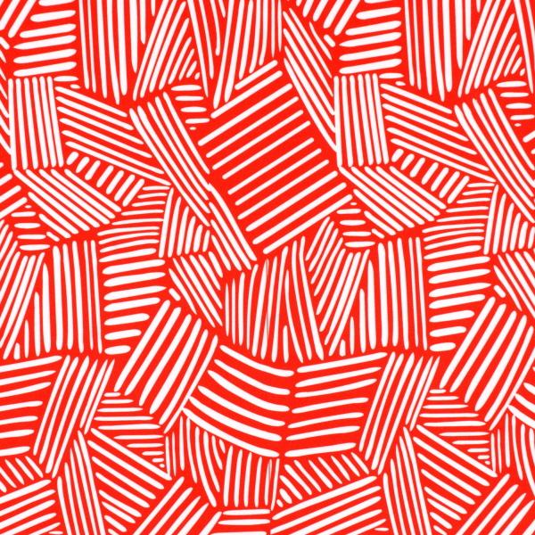Interweaving Lines Print Spandex Spandex Global