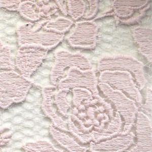 Rose Garden Embroidered Lace