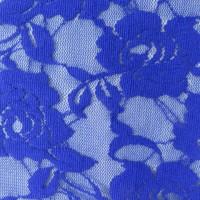 Rose Patterned Nylon Lace Spandex