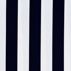 35mm Dark Blue Stripe Print Spandex