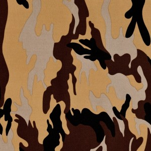 Camouflage Print Spandex