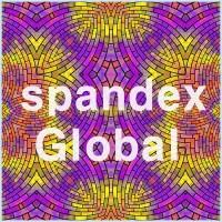 Purple and Yellow Kaleidoscope Brick Pattern