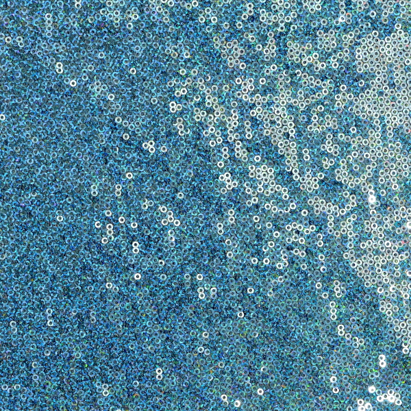 3mm Hologram Solid Sequin Mesh