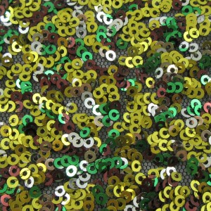 3mm Multi Color Sequin Mesh