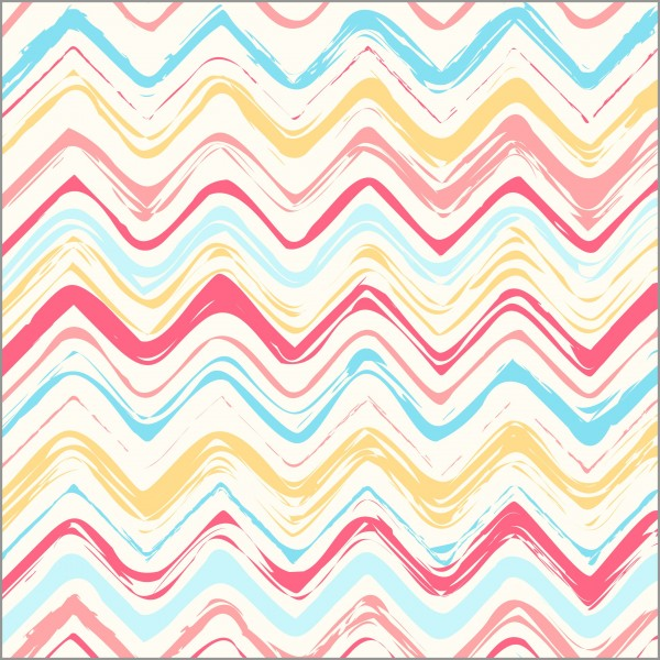 Brush Stroke Zig Zag Pattern