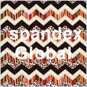 Multi Animal Pattern Chevron Stripes