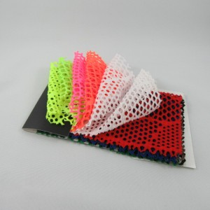 Leaf Patterned Solid Cabaret Mesh