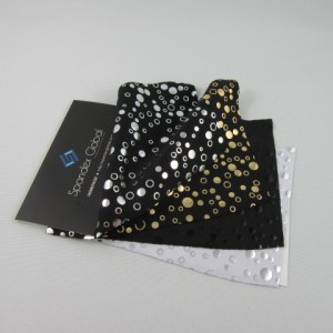 Metallic Bubble Pattern Spandex