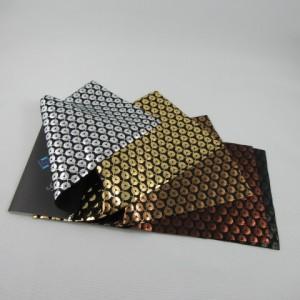 Metallic Frogspawn Pattern Spandex