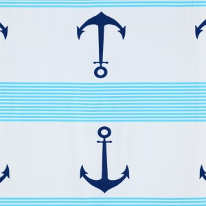 Large Anchor Print Spandex