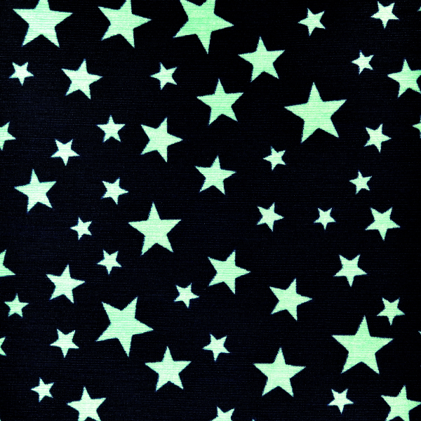 Starry night sky print spandex spandex global for Night sky print fabric